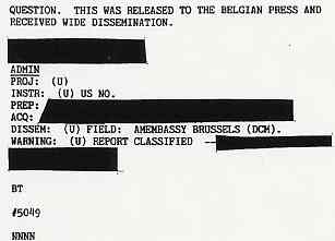 les triangles - (1990) DIA document relatif aux observations de triangles en Belgique Belge4